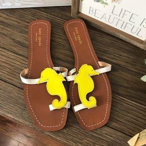 Kate Spade Seahorse Thong Sandals